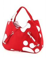 Paw Hand bag Red